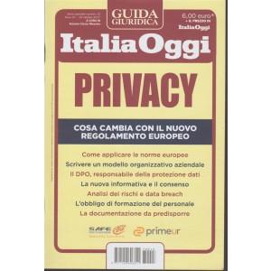 Guida Giuridica Italia Oggi- Privacy- Ottobre2017- a cura Antonio Ciccia Messina
