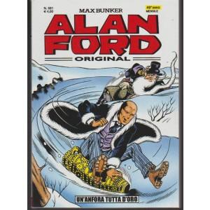 Alan Ford original - mensile n. 581 Novembre 2017 -Un'anfora tutta d'oro