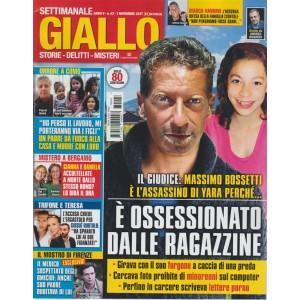 Giallo - settimanale n. 43 - 1 Novembre 2017 - Massimo Bossetti è l'assassino