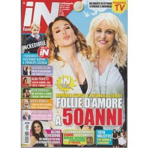 In Famiglia-settimanale n.42-26 ottobre 2017 Toto vallette: chi andrà a Sanremo?