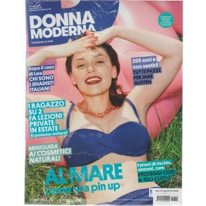 Donna Moderna - settimanale n. 29 - 5 luglio 2017 - Florentina Bolohan 28 anni
