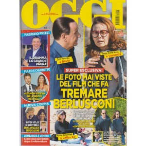 Oggi - settimanale n. 45 - 2 Novembre 2017 Fabrizio Frizzi il dramma e la paura