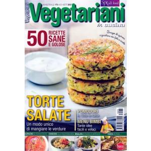 Vegetariani in Cucina - bimestrale pocket n. 73 Agosto 2017 Torte Salate