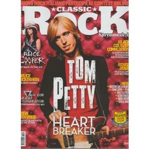 Classic Rock - mensile n. 60 Novembre 2017 Tom Petty Heart Breaker