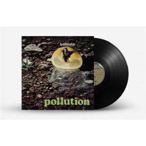 "Vinile (33 Giri) Battiato ""Pollution"" - Prog Rock Italiano - De Agostini"