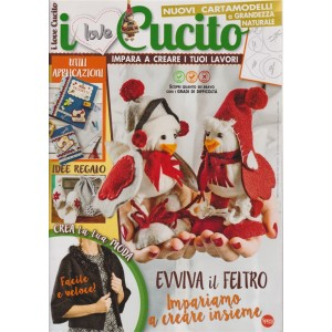 I love cucito - n. 20 - bimestrale - novembre - 2018 - dicembre 2019