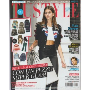 Tu Style - settimanale n. 45 - 31 Ottobre 2017 - Kaia Gerber