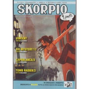 Skorpio - settimanale di fumetti n.2122 - 2 Novembre 2017 - 9 Fumetti