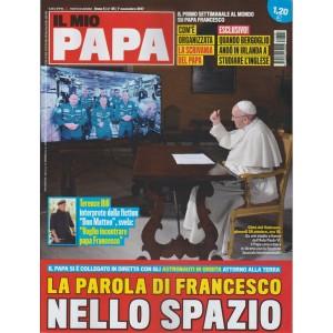 Il mio Papa-settimanale n.45-1 Novembre 2017 La parola di Francesco nello spazio