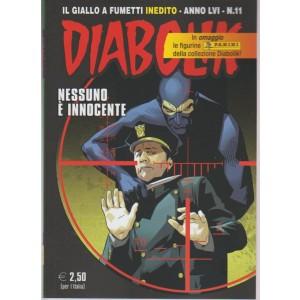 Diabolik - mensile n. 11 - Novembre 2017 - Nessino è innocente