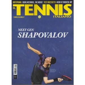 Tennis Italiano - mensile n. 11 Novembre 2017 - Next gen Shapovalov