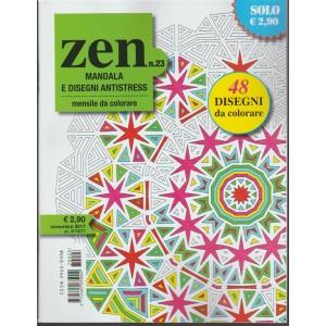 Zen Mandala e Disegni Antistress - mensile da colorare n 23 Novembre 2017