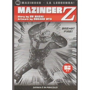 Mazinger la leggenda! vol. 2 di 8 - Mazinger Z - Sayaka è in pericolo!