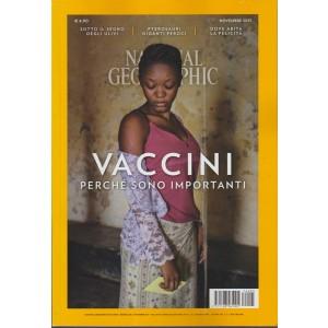 National Geographic - mensile vol. 4 n. 5 Novembre 2017 - Vaccini: perché sono importanti