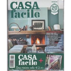 "Casa Facile - mensile n. 11 Novembre 2017 + Casa Facile Decor ""Speciale feste"""