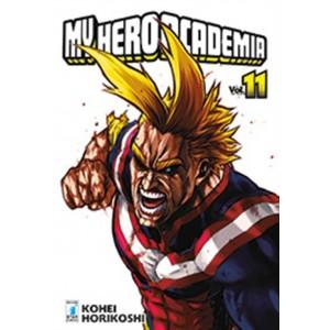 Manga: MY HERO ACADEMIA #11 - Star Comics collana Dragon #233
