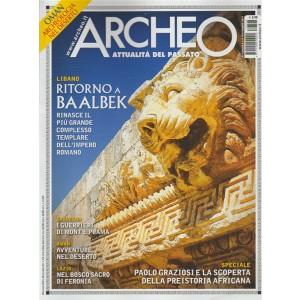 """Archeo """"attualità del passato"""" - mensile n. 393 Novembre 2017 - OMAN"""