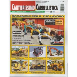Cantierissimo con Carrellistica - mensile n. 11 Novembre 2017
