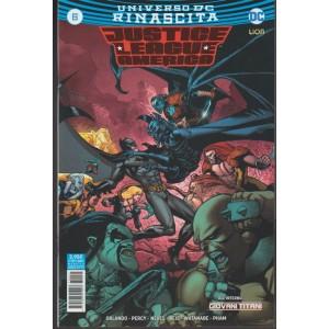 JUSTICE LEAGUE AMERICA 6 (44) - Universo DC Rinascita  - DC Comics Lion