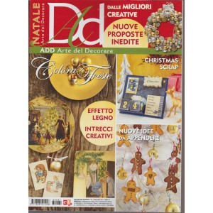Add Arte del Decorare - bimestrale n. 81 Novembre 2017 Christmas Scrap
