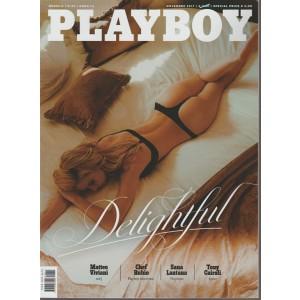 Playboy - mensile n. 34 Novembre 2017 Delightful