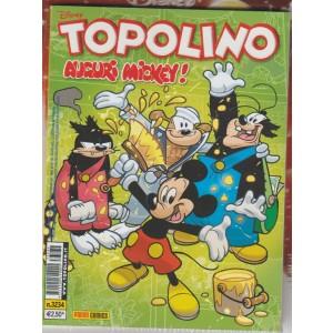 """Topolino Disney - Settimanale n. 3234  - 15Novembre 2017 -""""Auguri Mickey!"""""""