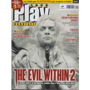 Play Generation - mensile n. 147 Novembre 2017 - The Evil Wthin 2
