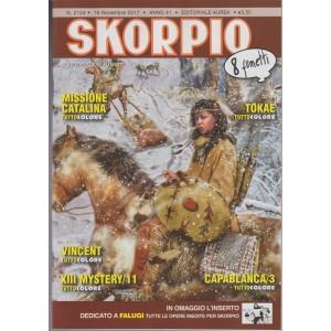 Skorpio - settimanale di fumetti n. 2124 - 16 Novembre 2017 - 8 fumetti