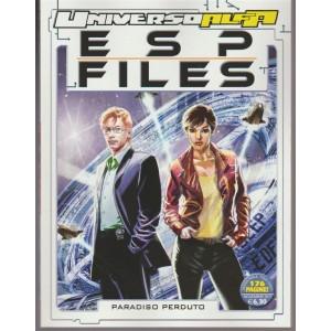 Universo Alfa - semestrale n. 21 novembre 2017 ESP Files: Paradiso Perduto