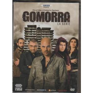 DVD - Cofanetto Gomorra La serie - Stagione 1 (4 dischi) - idea Roberto Saviano