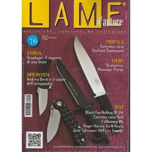 Lame d'autore- trimestrale n.76 Novembre2017-Artistiche, Sportive, da Collezione