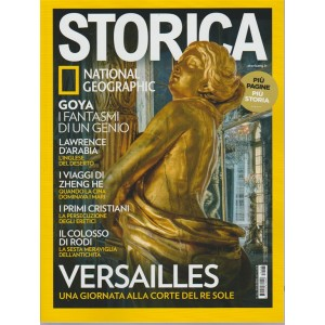 Storica by National Geographic - mensile n. 106 - Dicembre 2017 - Versailles
