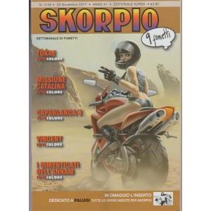 Skorpio - Settimanale di fumetti n. 2125 - 23 Novembre 2017 - 9 Fumetti