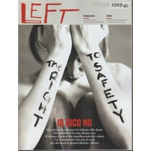 Left - Settimanale n. 47 - 25 Novembre 2017 - Io dico no
