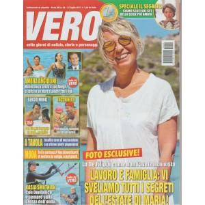 Vero - settimanale n.29 - 27Luglio2017-Sette giorni di notizie,storie,personaggi