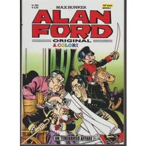Alan Ford Original - mensile n. 582 Novembre 2017 - Un Tenebroso Affare