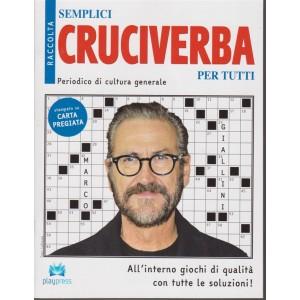 Raccolta semplici cruciverba per tutti - n. 27 - bimestrale - 5/11/2018 - Marco Giallini