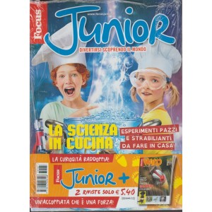 Focus Junior - mensile n. 167 Dicembre 2017 + Focus Wild n.77 Dic.2017