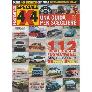 Speciale 4x4 by Tuttofuoristrada - una Guida per scegliere Luglio 2017