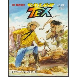 Tex Color - semestrale n. 12 Novembre 2017 Sparate sul Pianista e altre storie