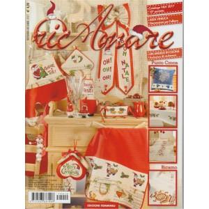 Ricamare - mensile n. 10 Novembre 2017 - Merry Christmas