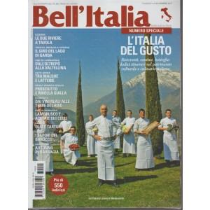 Bell'italia - mensile n. 54 - Novembre 2017 - Numero speciale:l'Italia del Gusto