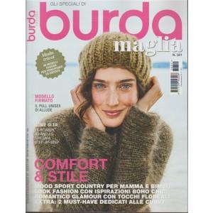 """Burda Maglia - trimestrale n. 351 Dicembre 2017 """"Comfort & stile"""""""