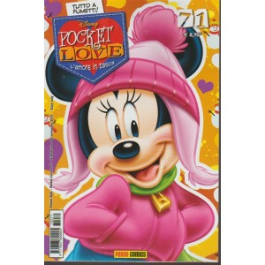 Disney Pocket Love - bimestrale n.71 Novembre 2017 - Panini Comics