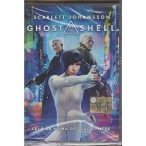 DVD - Ghost in the Shell - Lei è la prima del suo genere - Scarlett Johansson