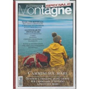 Meridiani Montagne: Speciale Cammini sul Mare - Dicembre 2017 con Carta 1:75.000