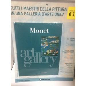 Art Gallery - Tutti i maestri della pittura vol. 1 Monet De agostini