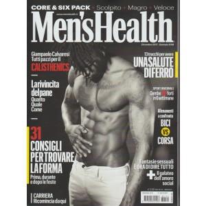 Men's Health - mensile n. 192 Dicembre 2017 - Carriera ricomincia da qui