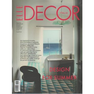 Elle Decor Italia - mensile n. 8 Agosto 2017 - Design for summer