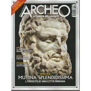 Archeo - mensile n. 394 dicembre 2017 - Bologna scoperto cimitero ebraico
